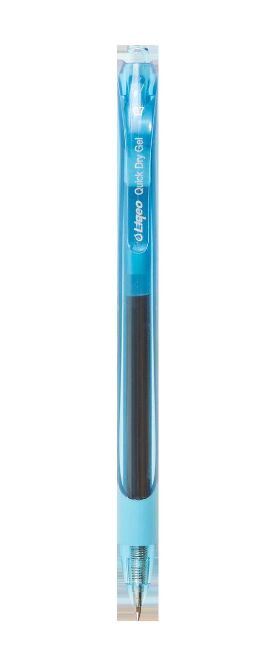 G-7008B-040<br>Liqeo Instant Dry Gel Pen<br>0.7 mm Light Blue