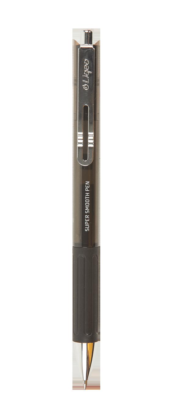 G-7009-080<br>Liqeo Super Smooth Gel Pen<br>0.7mm Black